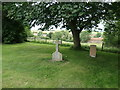 TA0967 : Commonwealth war grave, north corner of Rudston churchyard by Christine Johnstone