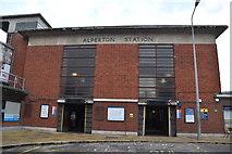 TQ1883 : Alperton Underground Station by N Chadwick
