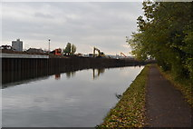 TQ1883 : Grand Union Canal and walk by N Chadwick