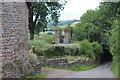 SO0924 : Ruin in garden of former rectory by M J Roscoe