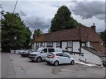 TQ5571 : The Chequers pub, Darenth Road, Darenth by Paul Williams