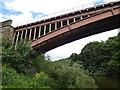 SO7679 : Victoria Bridge and the River Severn by Mat Fascione