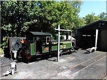 SS6846 : Trains running again on the Lynton and Barnstaple Railway by Roger Cornfoot