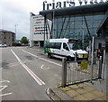 ST3188 : Minibus in Friars Walk bus station, Newport by Jaggery