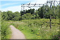 ST3485 : Junction of Wales Coast Path & Celtic Trail by M J Roscoe