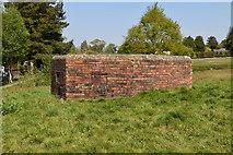 TQ5835 : Pillbox on The Green by N Chadwick