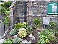 SD3097 : Coniston Methodist Church garden by Adrian Taylor