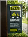 NS4590 : Camping Management Zone by Richard Sutcliffe