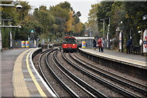 TQ1881 : Train pulling into North Ealing by N Chadwick