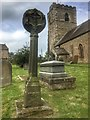 SD7138 : Old Wayside Cross by W MacDonald