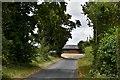 TM3467 : Bruisyard: Looking towards Hernsey Wood Farm by Michael Garlick