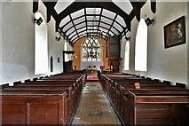 TM3464 : Rendham, St. Michael's Church: The nave by Michael Garlick