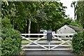 TM2962 : Framlingham, Brick Lane: Manor Farm by Michael Garlick