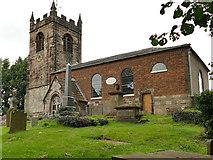 SJ8255 : All Saints, Church Lawton by Stephen Craven