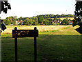SP4900 : Sunningwell Parish Village Green (est. 1999) by Jim Champion