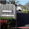 SZ0794 : Ensbury Park: Kings Close by Chris Downer