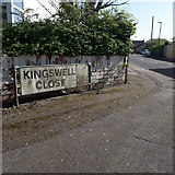 SZ0794 : Ensbury Park: Kingswell Close by Chris Downer