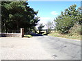 TG1118 : Hall Road, Alderford by Geographer