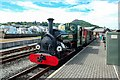 SH5738 : Blanche about to leave Porthmadog by Jeff Buck