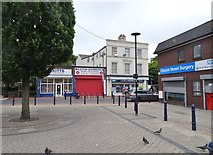 SO9496 : Bilston Square by Gordon Griffiths