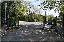 TQ5938 : Camden Park entrance by N Chadwick