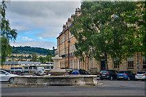 ST7565 : Bath : Laura Place by Lewis Clarke
