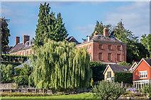 SO5074 : Dinham House and Dinham Lodge by Ian Capper