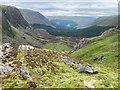 NO2474 : Top of the Corrie Fee headwall by John Allan