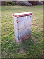 SH7981 : Lucy Oxford electrical cabinet on Conway Road, Llandudno by Meirion