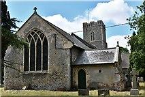 TM3464 : Rendham, St. Michael's Church: Eastern aspect by Michael Garlick