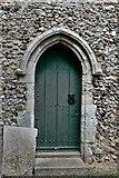 TM3464 : Rendham, St. Michael's Church: South doorway by Michael Garlick