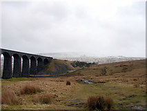 SD7579 : By Ribblehead Viaduct by John Lucas