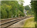 SK7251 : View towards Morton Level Crossing by Alan Murray-Rust