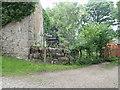 SJ0778 : Offa's Dyke Path signpost at Felin Fawr by Eirian Evans