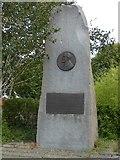 SJ7996 : Marshall Stevens Memorial, Trafford Park Village by Gerald England