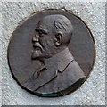 SJ7996 : Marshall Stevens: memorial medallion by Gerald England