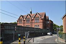 TQ5840 : St Barnabas Primary School by N Chadwick