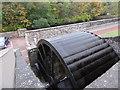NS8842 : New Lanark - replica waterwheel by Chris Allen