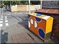 SE2535 : Utility cabinet with circle patterns by Stephen Craven
