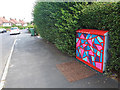 SE2535 : Utility cabinet with geometric pattern by Stephen Craven