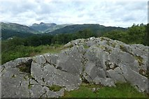 NY3404 : Neaum Crag and Great Langdale by DS Pugh