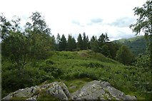 NY3404 : Summit of Neaum Crag by DS Pugh
