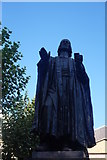 TQ3282 : John Wesley statue, City Road by Robin Sones