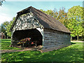 SO9568 : Avoncroft Museum- wagon shed by Chris Allen