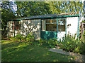 SO9568 : Avoncroft Museum - prefabricated bungalow by Chris Allen