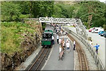 SH6441 : Lockdown Special at Tan-y-Bwlch by Jeff Buck
