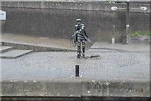 SU9949 : Statue, Town Wharf by N Chadwick