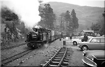 SH6441 : 'Earl of Merioneth' waiting departure at Tan y Bwlch by Martin Tester