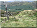 NN6013 : Deer fence below Beinn Bhreac by Chris Wimbush