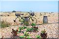 TQ9116 : Bike on the Beach by Des Blenkinsopp